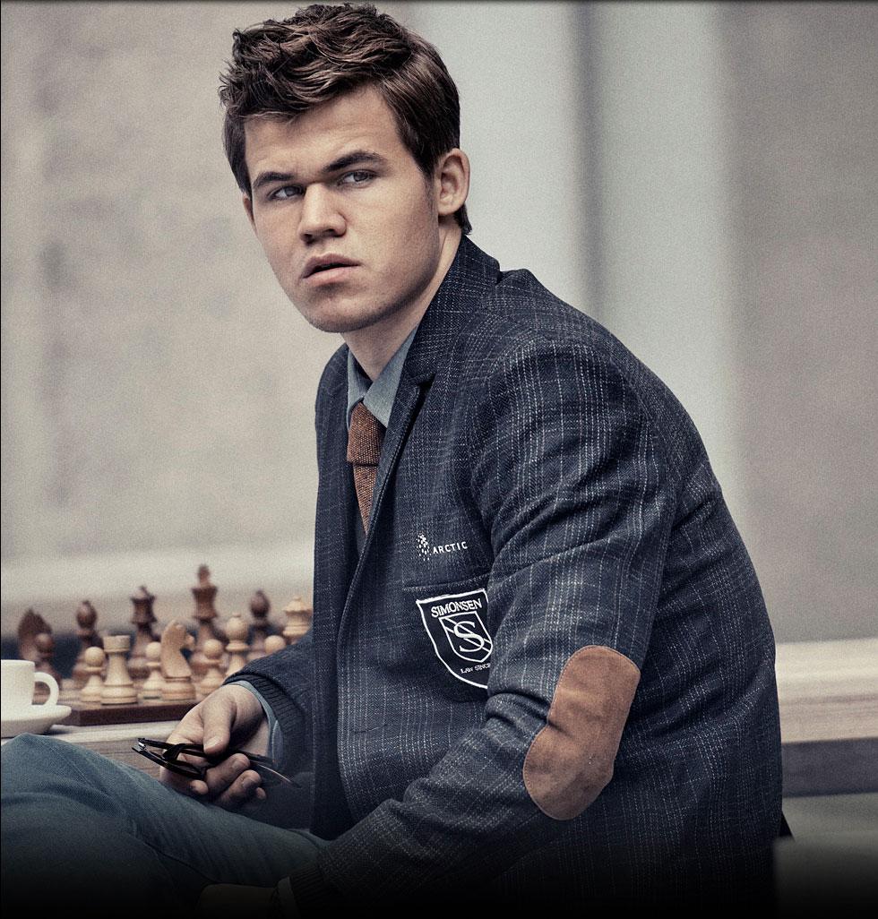 Magnus Carlsen, 22 year old World Chess Champion