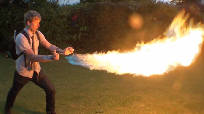 colin-furze-pyro-wrist-flamethrowers
