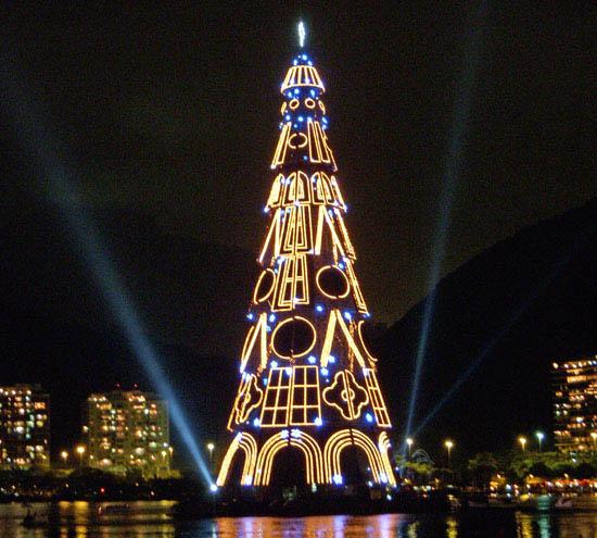 Lagoa Christmas Tree