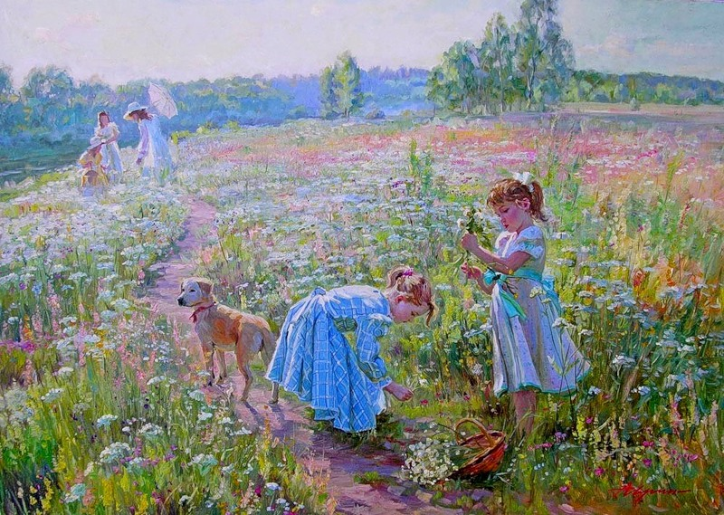 Alexander Averin [Александр Аверин] 1952 - Russian Realist painter - Tutt'Art@ (27)