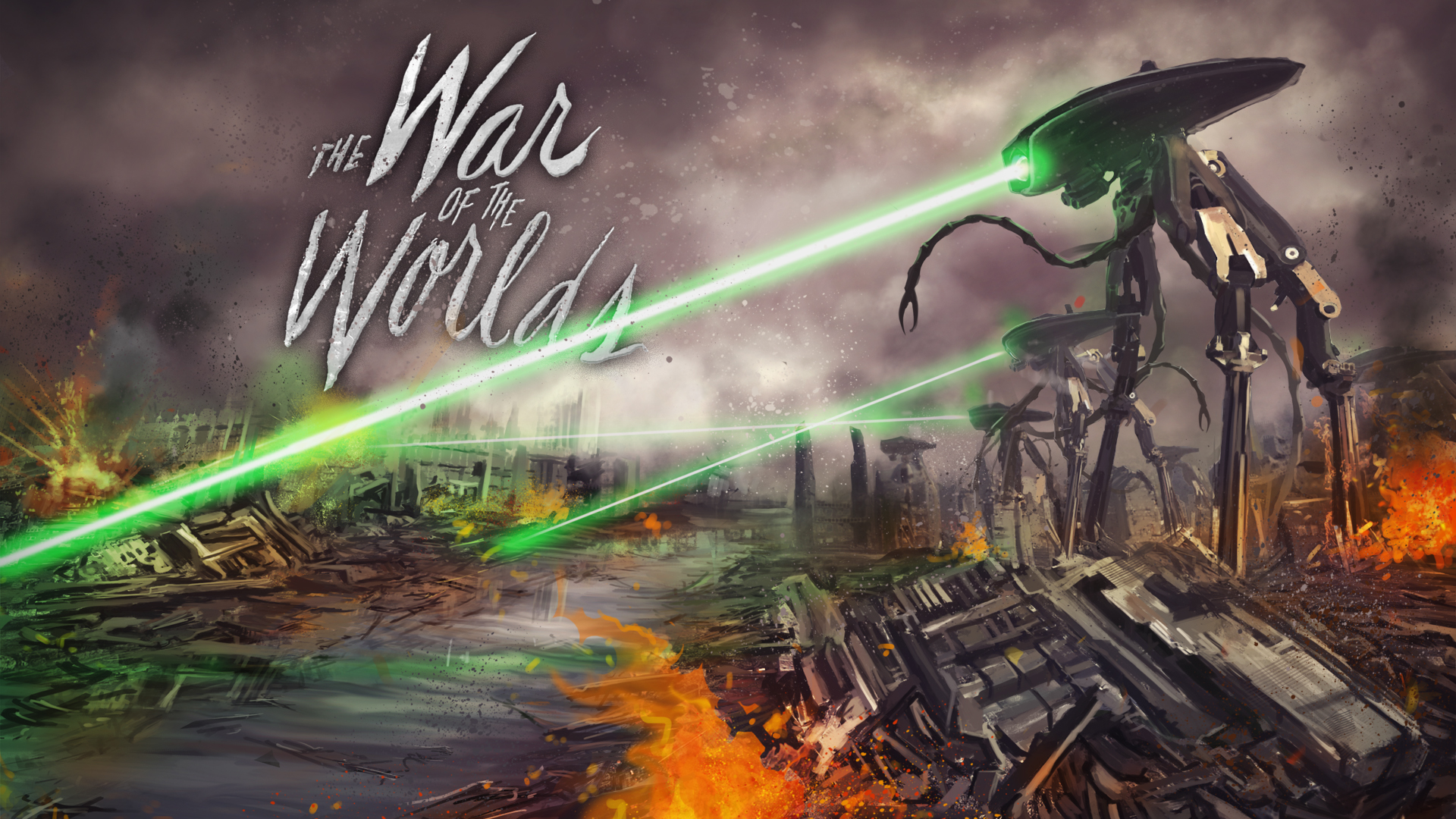 war of the worlds coursework