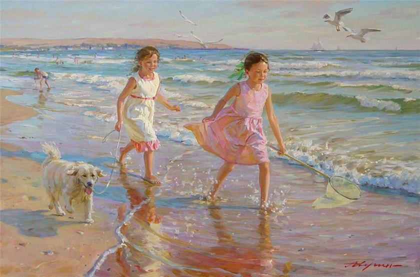 Alexander Averin [_________ ______] 1952 - Russian Realist painter - Tutt'Art@ (41)