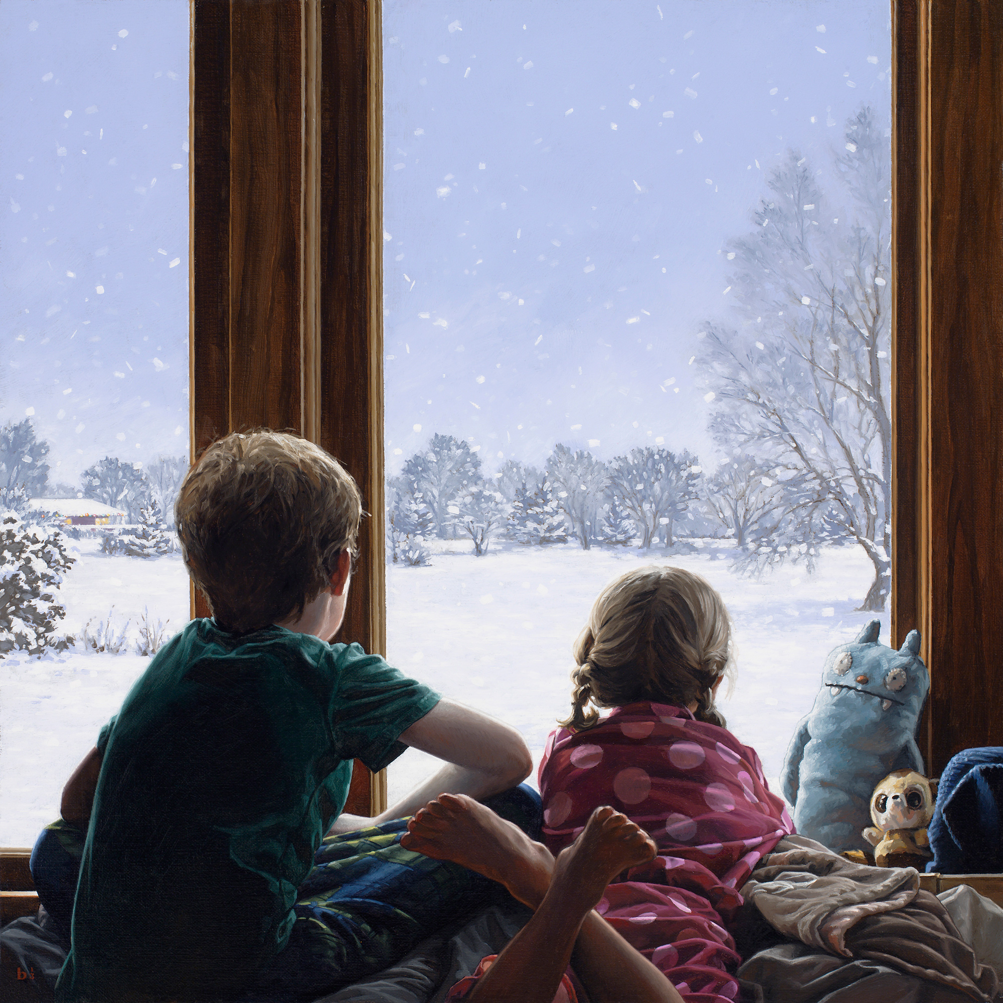 Larsen_Let_It_Snow_18x18_Oil_on_Linen_2013-huge
