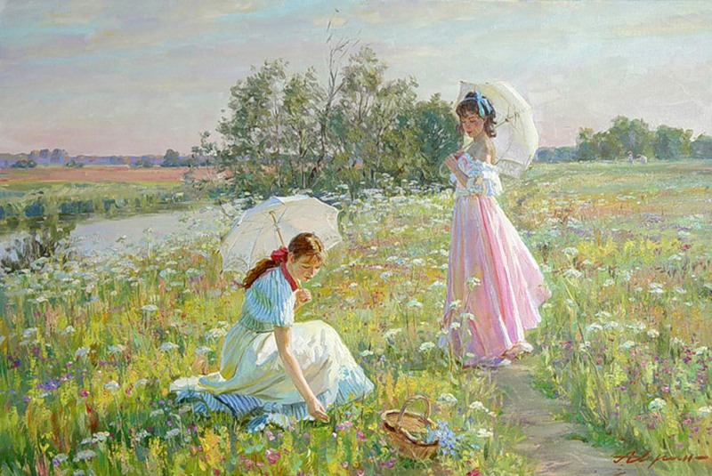Alexander Averin [_________ ______] 1952 - Russian Realist painter - Tutt'Art@ (21)