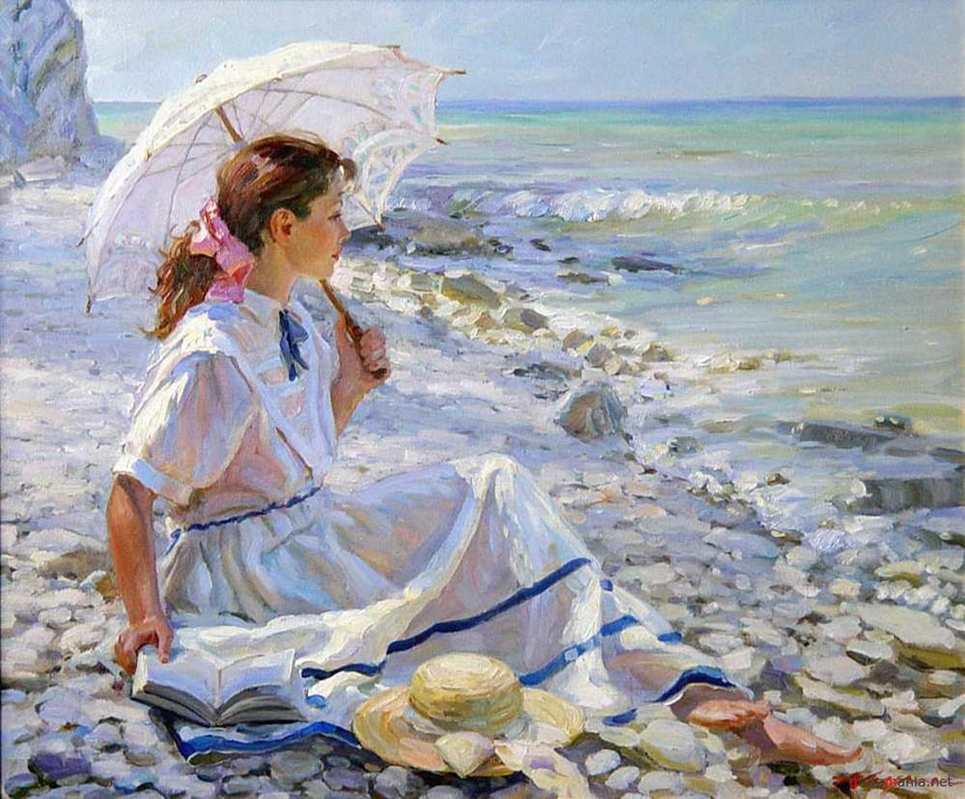 Alexander Averin [_________ ______] 1952 - Russian Realist painter - Tutt'Art@ (52)