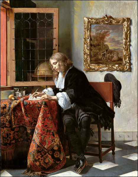 gabriel-metsu-man-writing-letter-1665