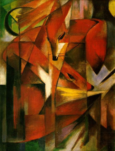 franz-marc-the-fox