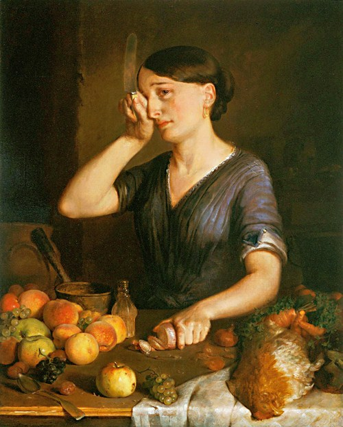 lilly-martin-spencer-1822-1902-peeling-onions
