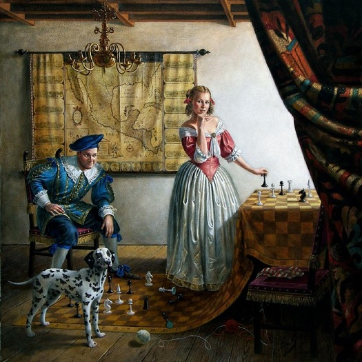 portrait-of-mr-and-mrs-paul-cass-in-vermeers-interior