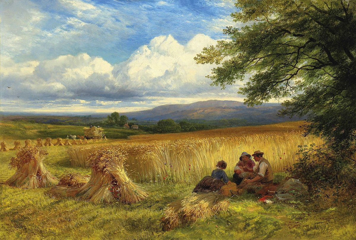 George_Cole_-_Harvest_Rest
