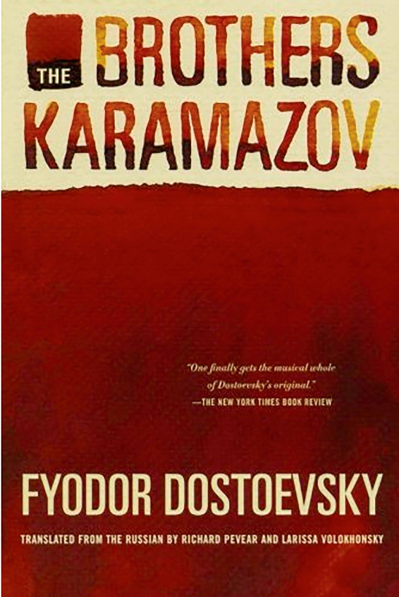 the brothers karamazov Though most readers are familiar with the plot of the brothers karamazov, its  very length and intricacy necessitate summary one can see how.